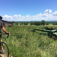 3-day cycle  in Annapolis Valley,  NS, Canada - July 5-7/17