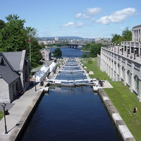 Canoeing the Rideau Canal