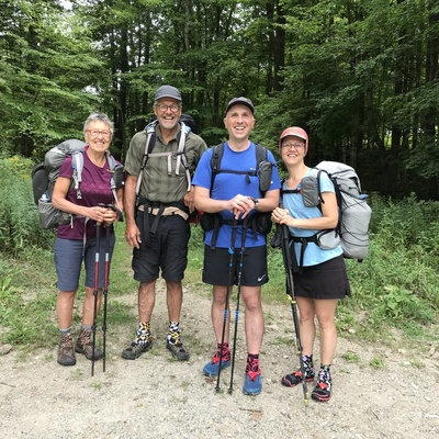 The Long Trail, Vermont - Section Hike 2018
